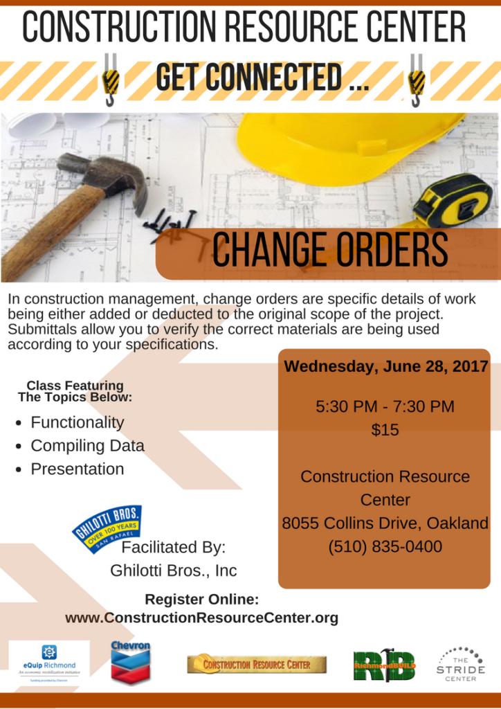 change orders _2_